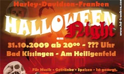 Halloween-Party bei den Harleys in Garitz